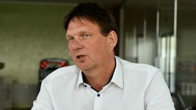 Robert Guschlbauer führt gemeinsam mit seiner Frau Elisabeth das Unternehmen. (Bild: Markus Wenzel)