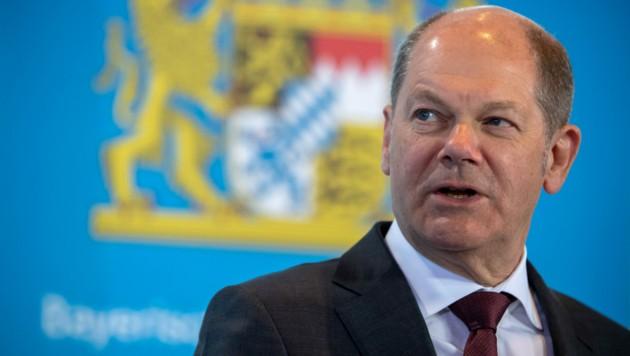 Der deutsche Finanzminister pocht auf höhere Steuern für besonders vermögende Bürger. (Bild: AFP)