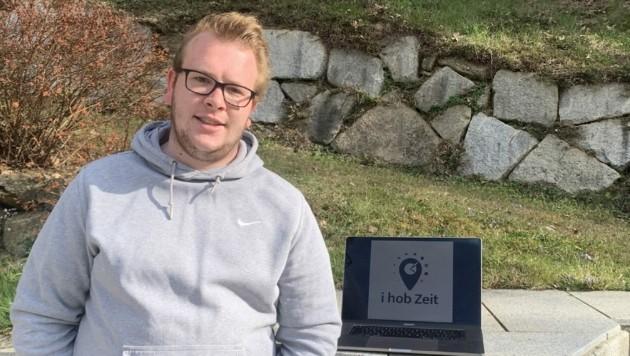 Stefan Stanzel ist einer drei Initiatoren der Plattform www.ihobzeit.at (Bild: zVg)