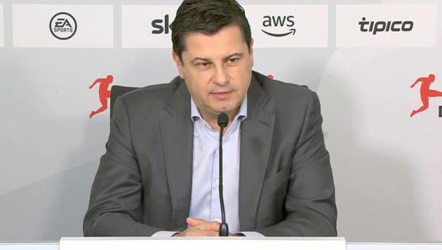 DFL-Boss Christian Seifert (Bild: afp)