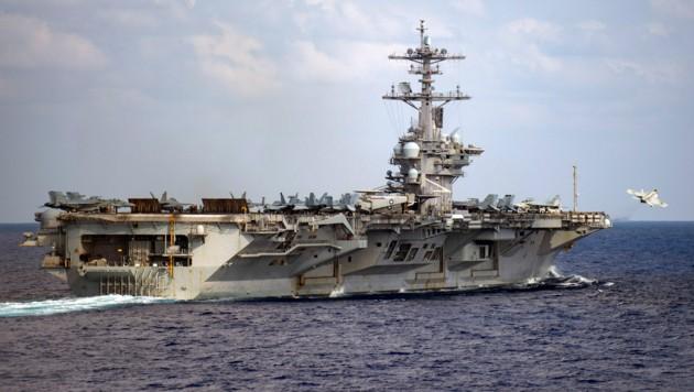 Die USS Theodore Roosevelt (Bild: APA/AFP/Navy Office of Information/Nicholas V. HUYNH)