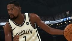 "Kevin Durant als virtueller Avatar in 2Ks Basketball-Game ""NBA 2K20"" (Bild: 2K)"