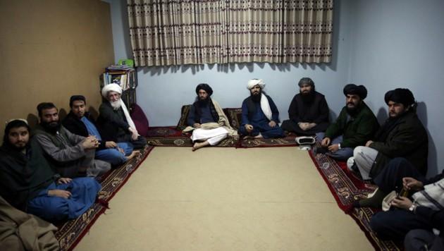 Im Gefängnis Pul-e-Charkhi sitzen einige Taliban. (Bild: AP)
