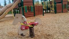 Der Spielplatz einer Schule im US-Bundesstaat Kalifornien (Bild: The Associated Press)