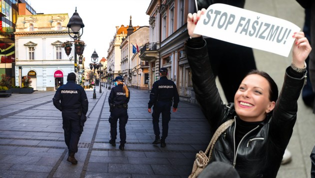 (Bild: AFP, nova.rs, krone.at-Grafik)