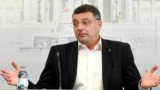Jörg Leichtfried (SPÖ) (Bild: APA/Roland Schlager)