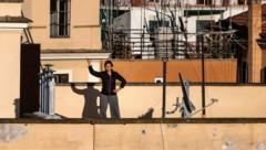 In Italien ist die Corona-Pandemie derzeit zwar noch voll im Gange, die Regierung von Premier Conte bereitet sich jedoch schon auf die Zeit danach vor. (Bild: AFP )
