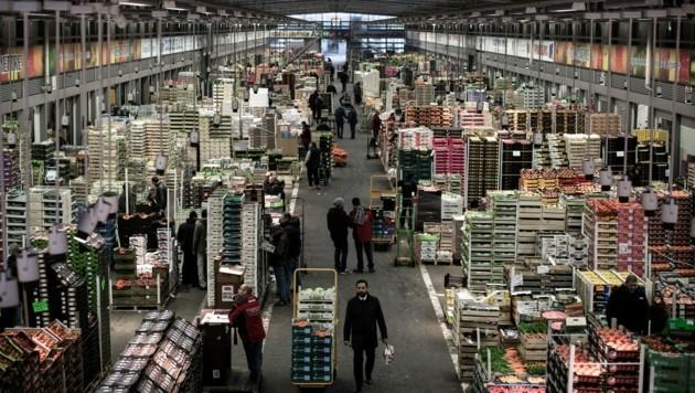 Der Großmarkt Rungis im Süden von Paris (Bild: AFP)