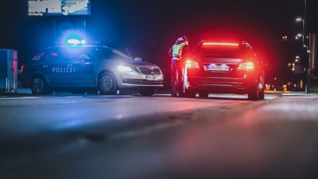 Die Polizei kontrolliert weiterhin (Bild: EXPA/JFK)