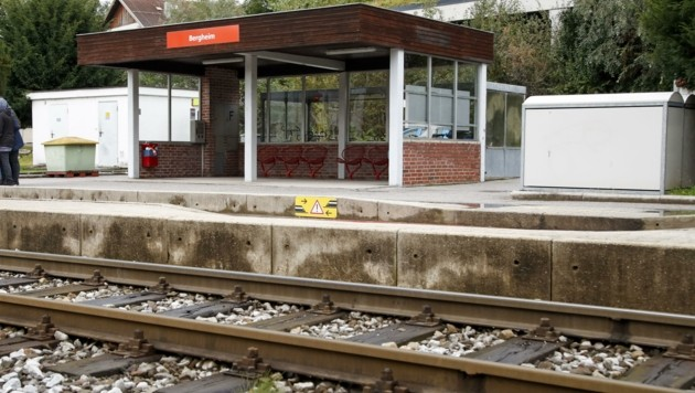 Lokalbahnhof in Bergheim (Bild: Tschepp Markus)