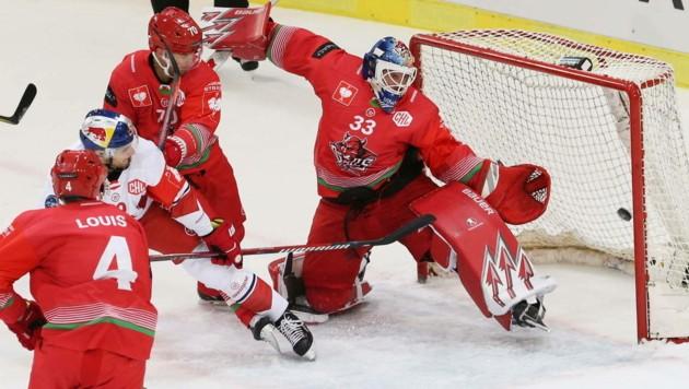 Ben Bowns machte auch in der Champions Hockey League schon gute Figur. (Bild: GEPA pictures/ Mathias Mandl)