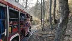 Die Feuerwehren waren auch noch am Samstagabend im Einsatz (Bild: Freiwillige Feuerwehr Elsbethen)