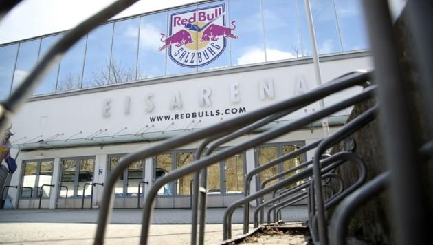 Die Eishalle soll im Notfall für die Lagerung von Särgen umfunktioniert werden (Bild: Tröster Andreas)