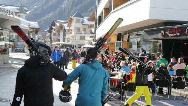 Hackl verteidigt die Topdestinationen Tirols. Tirol sei sicher nicht der Sündenbock der Nation. (Bild: Birbaumer Christof)