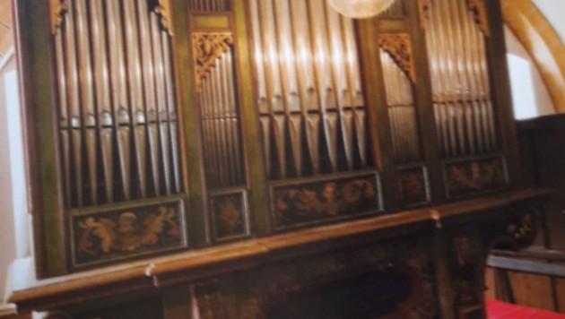 (Bild: Kirchenorgeln Broschüre der Katholischen Kirche Kärnten F. Neumüller)