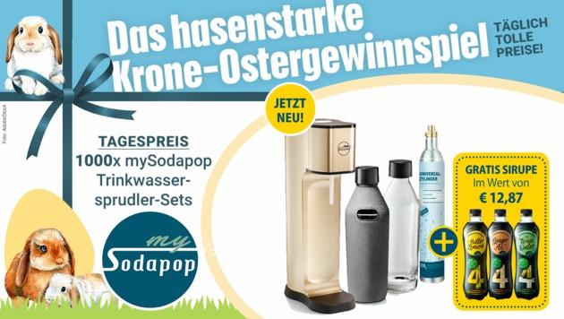 (Bild: AdobeStock, krone.at-Grafik, Kronen Zeitung, mySodapop)