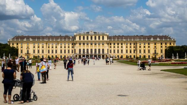 So steht die Bundeshauptstadt da: In Wien ist ein Wahlkampfstreit um Corona entbrannt (Bild: APA/GEORG HOCHMUTH)