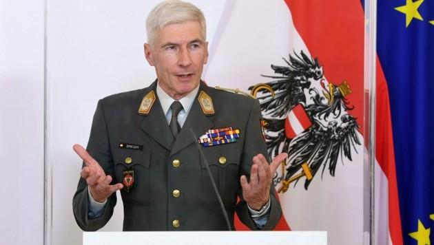Generalstabschef Robert Brieger (Bild: APA/HELMUT FOHRINGER)