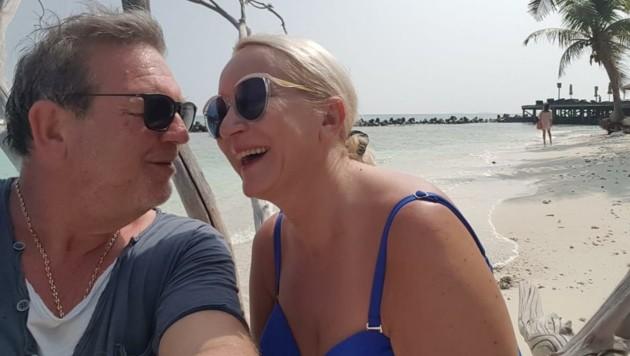 Yvonne und Stefan können sich derzeit nicht in die Arme schließen. (Bild: zVg)