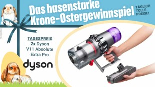 Der kabellose Staubsauger Dyson V11 Absolute Extra Pro bringt Effizienz und Flexibiltät. (Bild: Dyson, krone.at, AdobeStock)