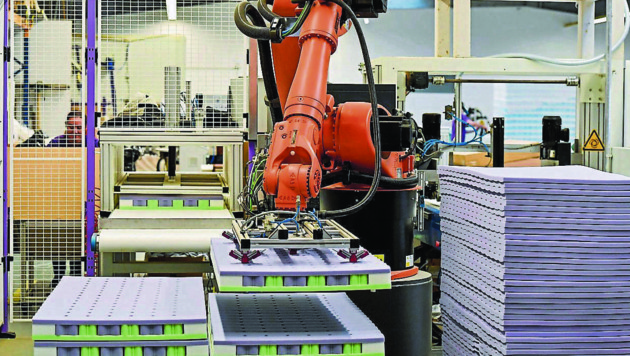 Neben 86 Mitarbeitern ist derzeit ein Roboter bei Träumeland im Einsatz. (Bild: Harald Dostal)
