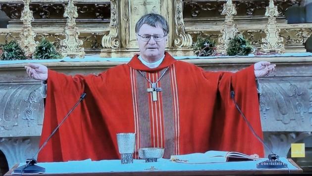 Die Messe von Manfred Scheuer am Palmsonntag wurde bereits live auf LT1 gezeigt. (Bild: Barbara Kneidinger)