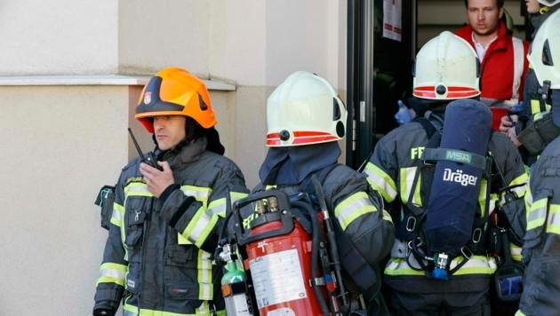 Symbolbild: Die Feuerwehr hatte alle Hände voll zu tun (Bild: Markus Tschepp)
