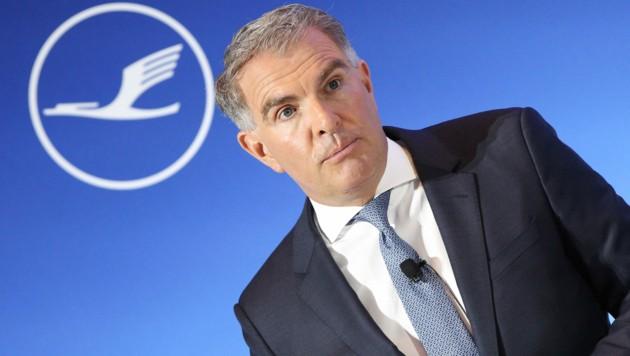 Lufthansa-Chef Carsten Spohr (Bild: AFP)
