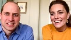 Prinz William und Herzogin Kate statteten einer Schule einen virtuellen Besuch ab. (Bild: instagram.com/kensingtonroyal)