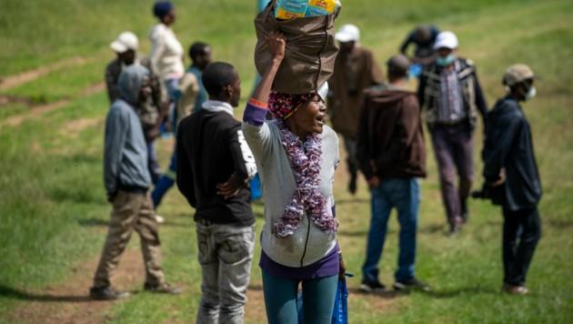 """Die WHO ruft dringend dazu auf, die Anzahl der Corona-Tests in Afrika zu erhöhen: """"Ohne Hilfe und Einschreiten können arme Länder und ungeschützte Völker massiv verwüstet werden."""" (Bild: AP)"""