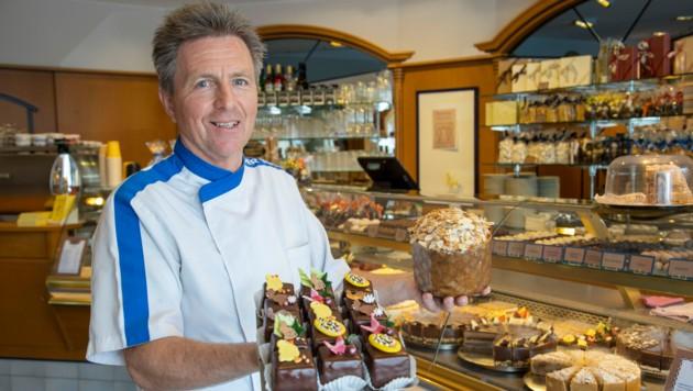 Herbert Wagenleitner ist Chef der Konditorei Tortenmacher (Bild: Camera Suspicta / Susi Berger)