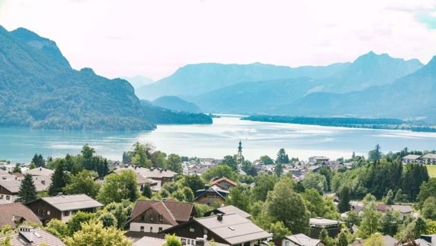 Der Ferienort St. Gilgen am Wolfgangsee rüstet sich für den osterlichen Ansturm. (Bild: Wildbild)