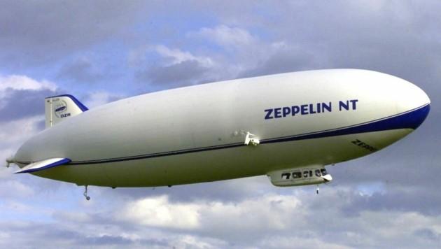 Der Zeppelin NT kommt im Kampf gegen das Coronavirus zum Einsatz. (Bild: dpa/dpaweb)