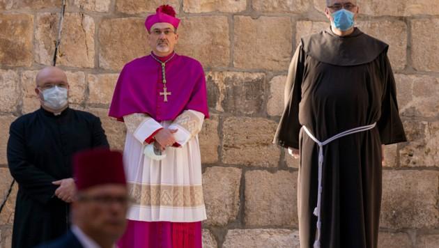 Erzbischof Pierbattista Pizzaballa (Bild: AP)