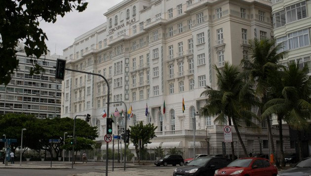 "Das berühmte Hotel ""Copacabana Palace"" in Rio de Janeiro (Bild: The Associated Press)"