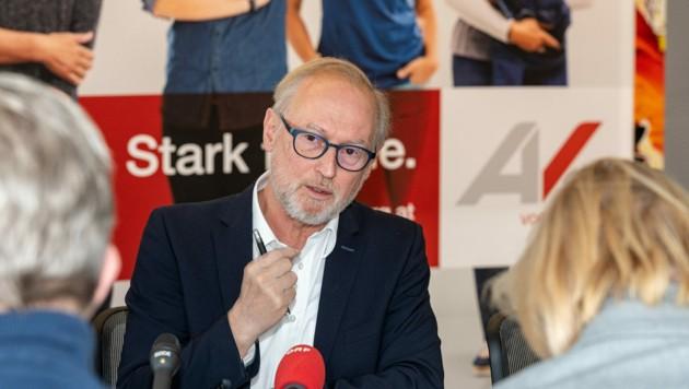 Arbeiterkammer-Direktor Rainer Keckeis im großen Sonntagsinterview. (Bild: JUERGEN GORBACH)