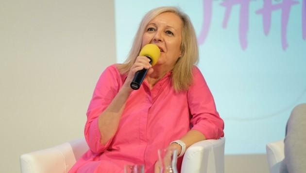 Festivalleiterin Christine Dollhofer hat eine Lösung präsentiert (Bild: Einöder Horst)