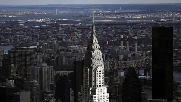Chrysler Building, New York: Die Preise sinken! (Bild: 2019 Getty Images)
