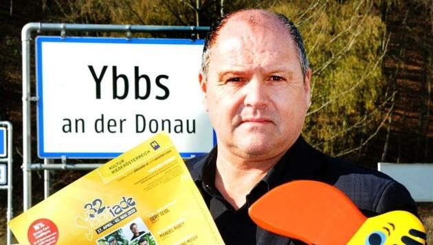 """Bürgermeister Alois Schroll: """"Arbeiten an Verschiebung von Ybbsiade-Terminen."""" (Bild: Crepaz Franz)"""