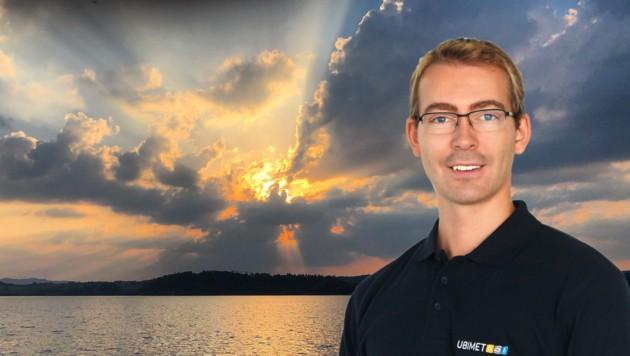 Steffen Dietz, Meteorologe von Ubimet (Bild: Ubimet/KL)