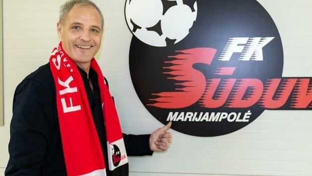 Erst am 8. Jänner war Heimo Pfeifenberger neuer Trainer beim FK Suduva geworden. (Bild: Tröster Andreas)