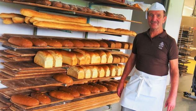 Bäckermeister Peter Pföß setzt auf Regionalität (Bild: Salzburger Agrar Marketing)