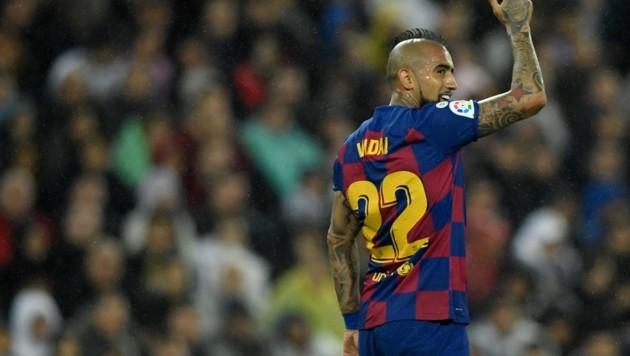 Arturo Vidal (Bild: APA/AFP/OSCAR DEL POZO)