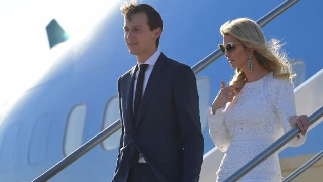 Ivanka Trump und ihr Mann Jared Kushner (Archivbild) (Bild: AFP)