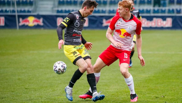Liefering (im Bild Nicolas Seiwald) hofft auf eine Fortsetzung der 2. Liga. (Bild: GEPA pictures/ Jasmin Walter)
