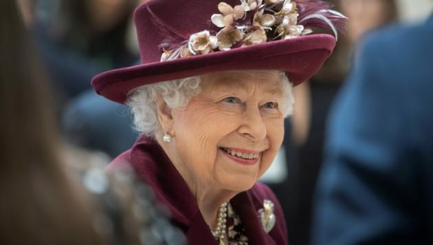 Queen Elizabeth II. im Februar 2020 (Bild: APA/AFP/POOL/Victoria Jones)