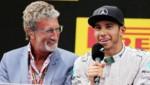 Eddie Jordan bei einem gemeinsamen Auftritt mit dem damals, im Jahr 2014, noch jungen Lewis Hamilton ... (Bild: GEPA pictures)