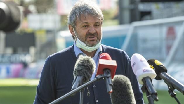 Jürgen Werner (Bild: APA/EXPA/REINHARD EISENBAUER)