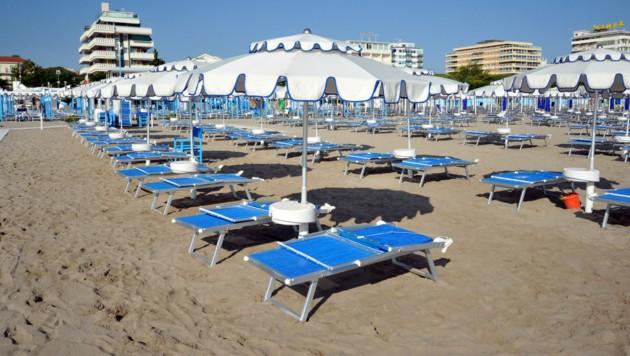 Die Urlaubssaison könnte in Riccione mit Beschränkungen im Juni starten. (Bild: Guido Nicora/stock.adobe.com)