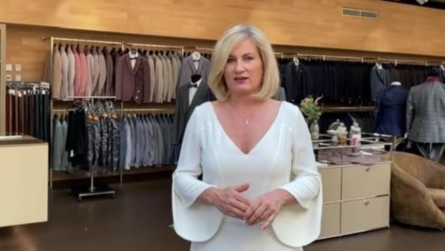 Christine Rührlinger, Geschäftsführerin von Hänsel & Gretel. (Bild: Screenshot/YouTube)